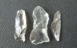 Lamellen aus Bergkristall von Weinzierl 1 (Foto: Helmut Ardelt)