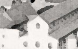 Sujet der Tagung: Abstrahiertes Modell des Legionsbades von Lauriacum/Enns